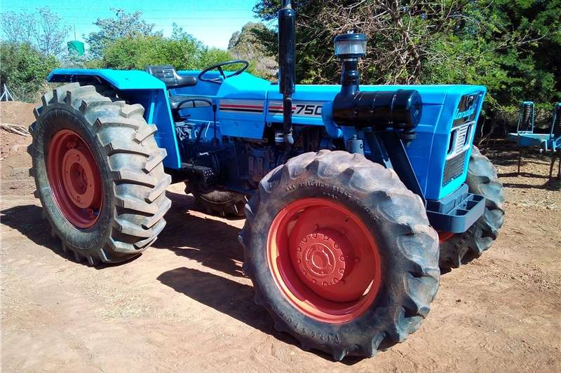 4WD tractors Landini 7500 4x4 Tractors