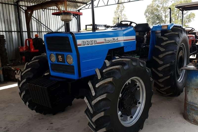 4WD tractors Landini 8860 4x4 Tractors