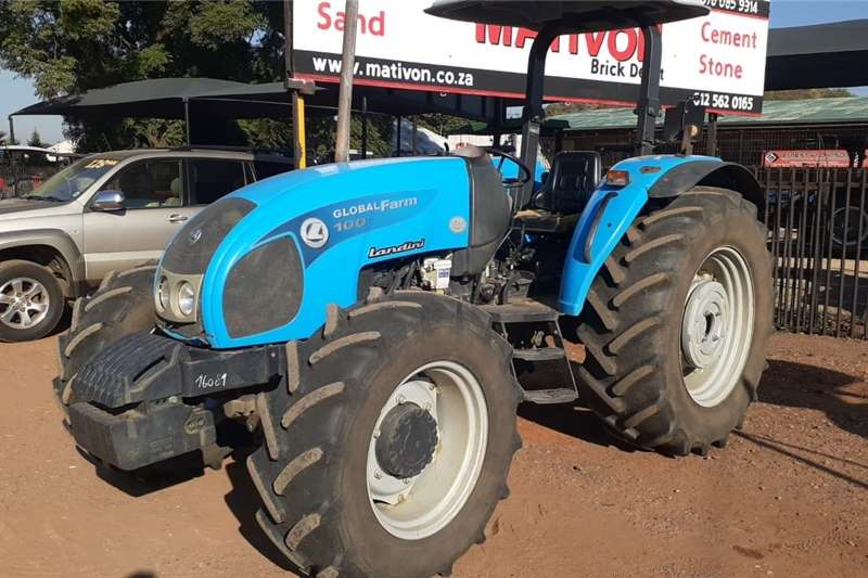 4WD tractors Landini Globalfarm 100 4x4 Tractors