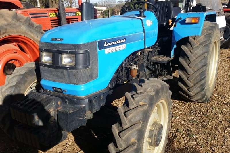 4WD tractors Landini Solis 60 4x4 Pre Owned Tractor Tractors