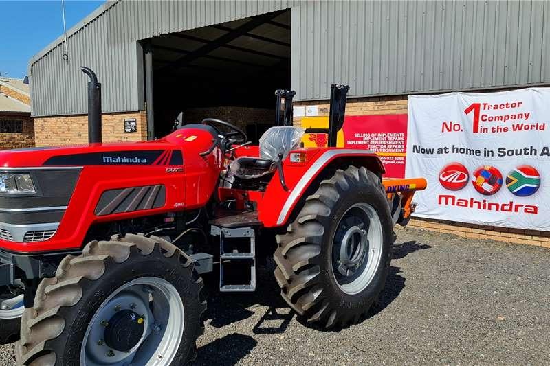 4WD tractors Mahindra 6075 4wd Tractors Tractors
