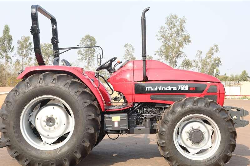 4WD tractors Mahindra 7590 4wd Tractors