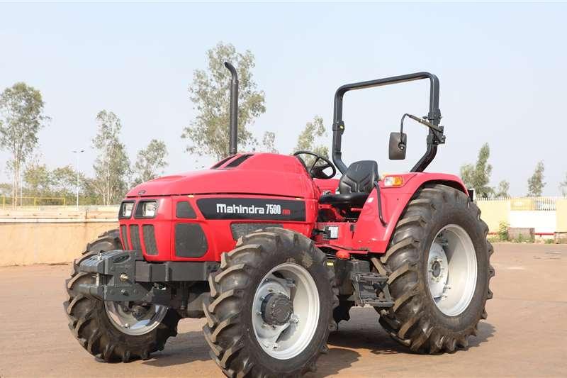 4WD tractors Mahindra 7590 4wd July special Tractors