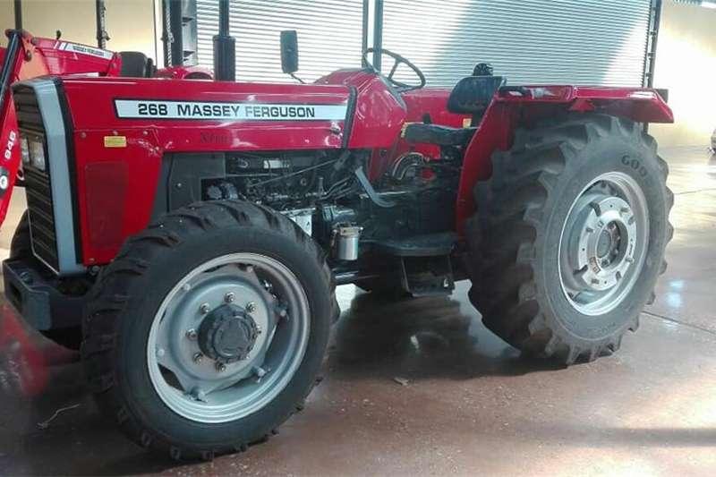 Tractors 4WD tractors Massey Ferguson 265 Xtra 4x4 with Canopy...STUNNIN 2016