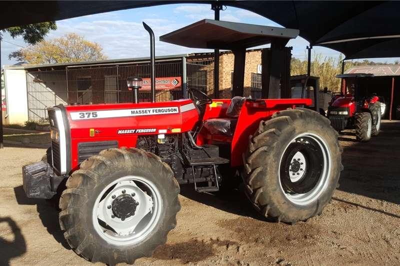 4WD tractors Massey Ferguson 375 Tractor 4x4 For Sale Tractors