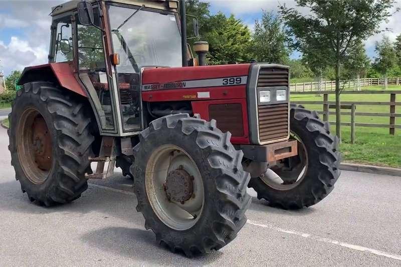 4WD tractors Massey Ferguson 399 4x4 Tractors