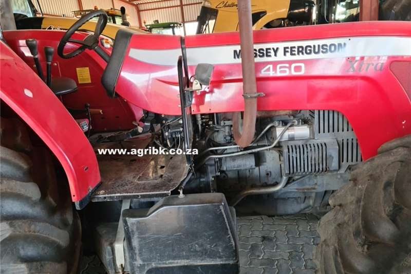 4WD tractors Massey Ferguson 460 Xtra Tractors