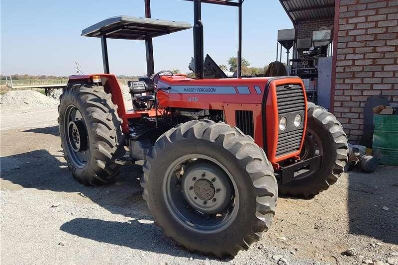 4WD tractors Massey Ferguson 475 Tractors