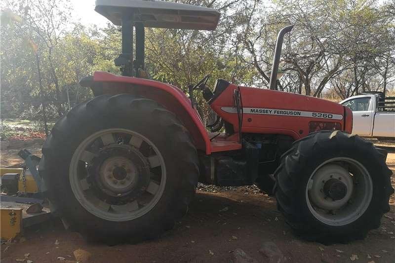 Tractors 4WD tractors Massey ferguson 5360 tractor 4x4