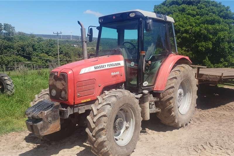 4WD tractors Massey Ferguson 5445 Cab tractor Tractors