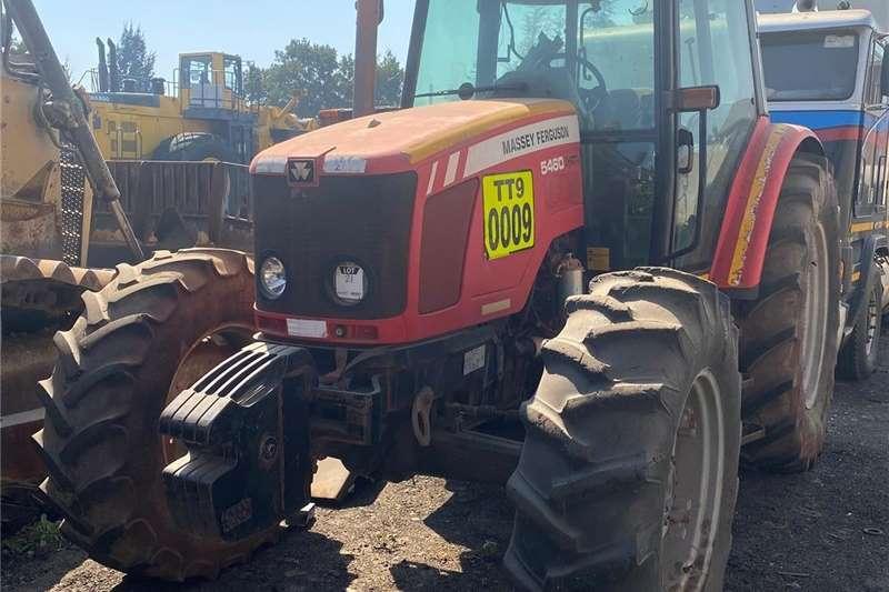 4WD tractors Massey Ferguson 5460 Dynapak Tractors