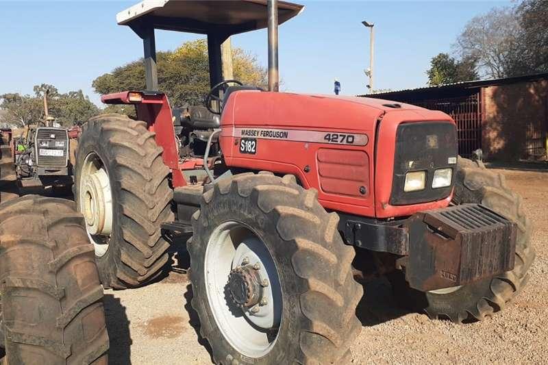 4WD tractors Massey Ferguson (MF) 4270 4X4 Tractors