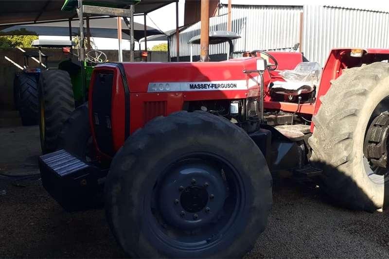 4WD tractors Massey Ferguson (MF) 460 4x4 Tractors