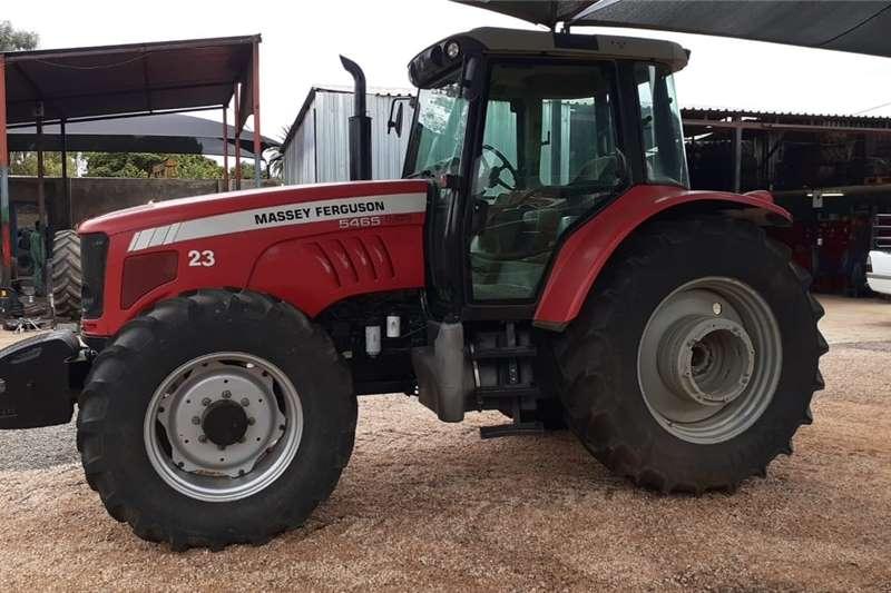 4WD tractors Massey Ferguson (MF) 5465 4x4 Tractors
