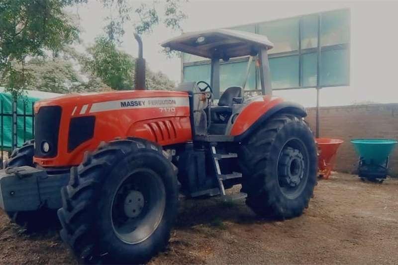 4WD tractors Massey Ferguson (MF) 7170 4x4 Tractors