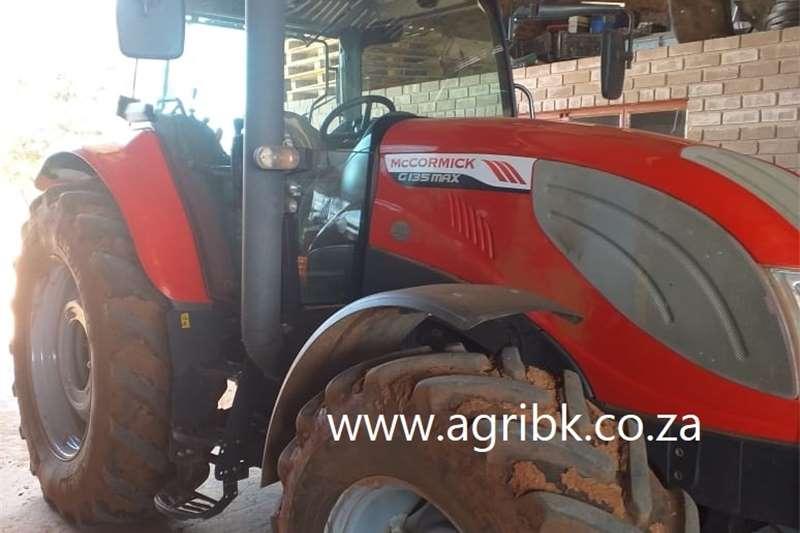 4WD tractors McCormick G135 Max Tractors