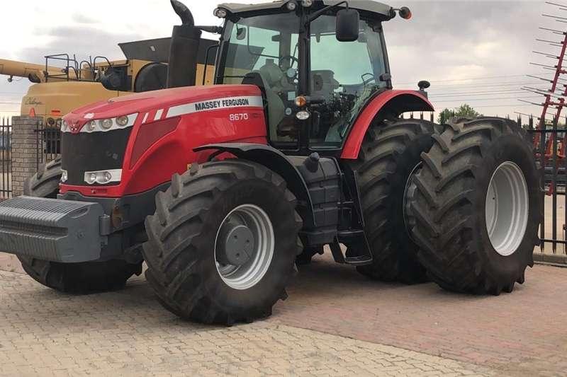 Tractors 4WD tractors MF 8670