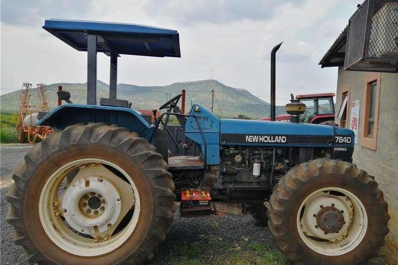 4WD tractors NEW HOLLAND 7840 Tractors