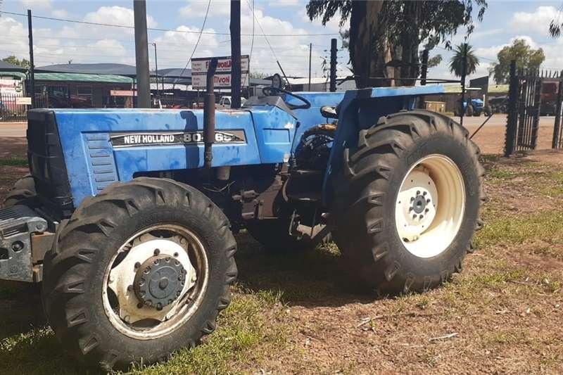 4WD tractors New Holland 80 66s 4x4 Tractors