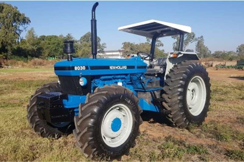 4WD tractors New Holland 8030 4x4 Tractors