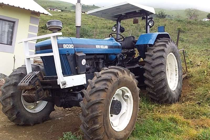 4WD tractors New Holland 8030 with logbook Tractors