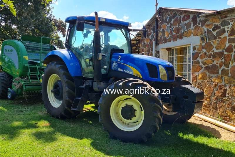 4WD tractors New Holland T6070 Tractors