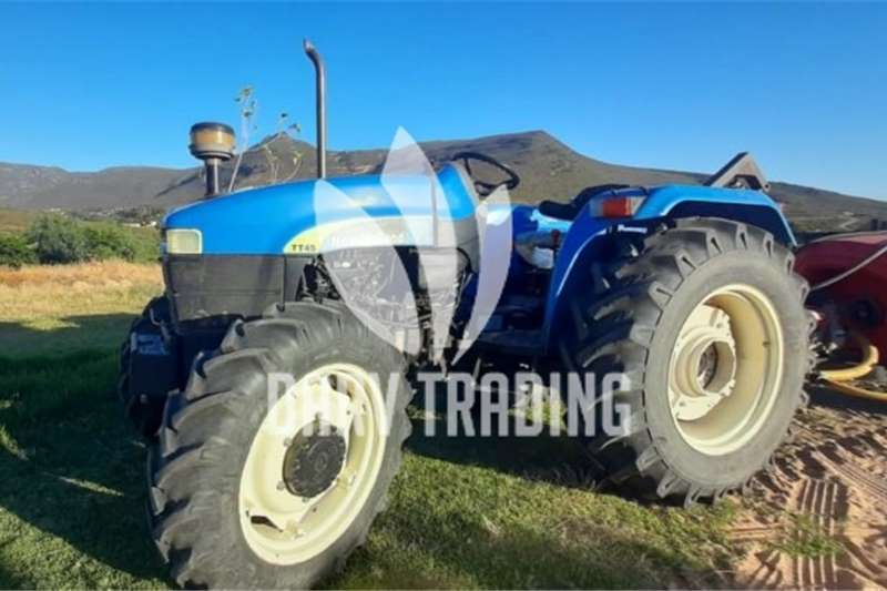 4WD tractors New Holland TT45 Tractors