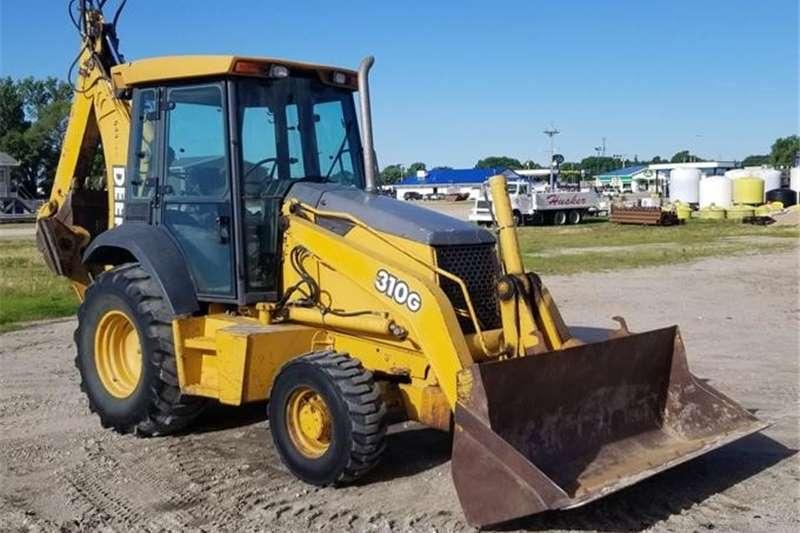4WD tractors TLB JD 310G 4x4 Loader Backhoe TRACTOR Tractors
