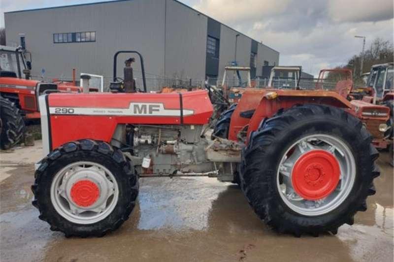 4WD tractors UsedMassey Ferguson 290 4x4 4wd Tractors