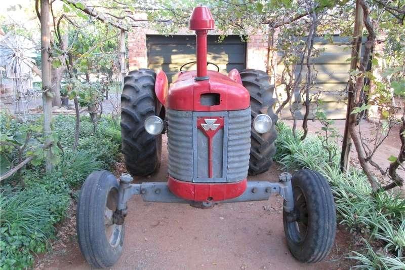 Tractors Antique tractors Massey Ferguson 65 / MF 65 / MF65 tractor. Diesel.