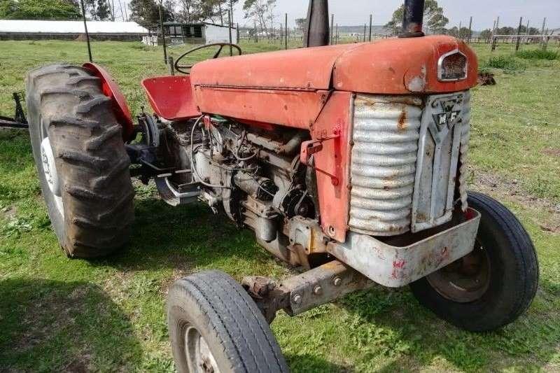Tractors Antique tractors Massey Ferguson 65 plus implemente pakket