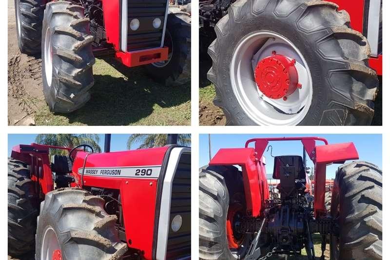 Tractors Compact tractors Massey Ferguson 290 4wd tractor