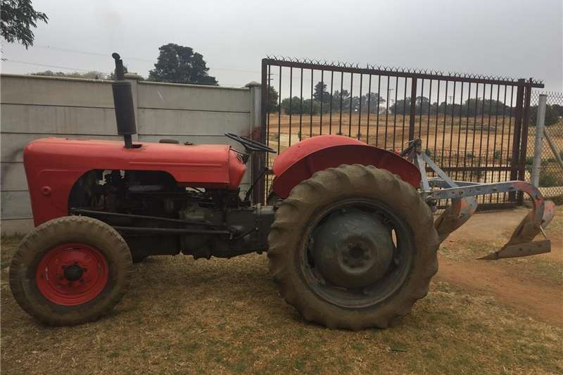 Tractors Compact tractors Massey Ferguson 35 Diesel Tractor with slasher and