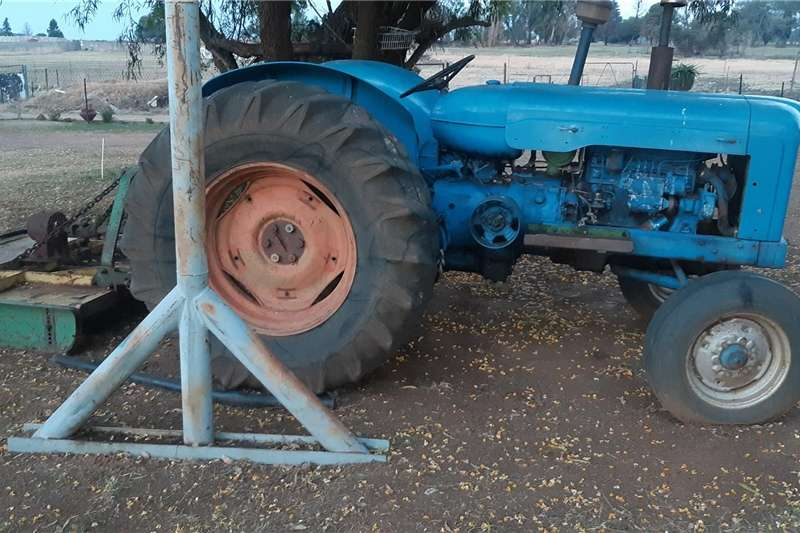 Fordson tractor plus implements Tractors