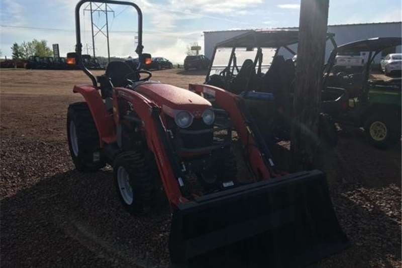 Tractors Four wheel drive tractors 1734E with gear drive 4x4 diesel