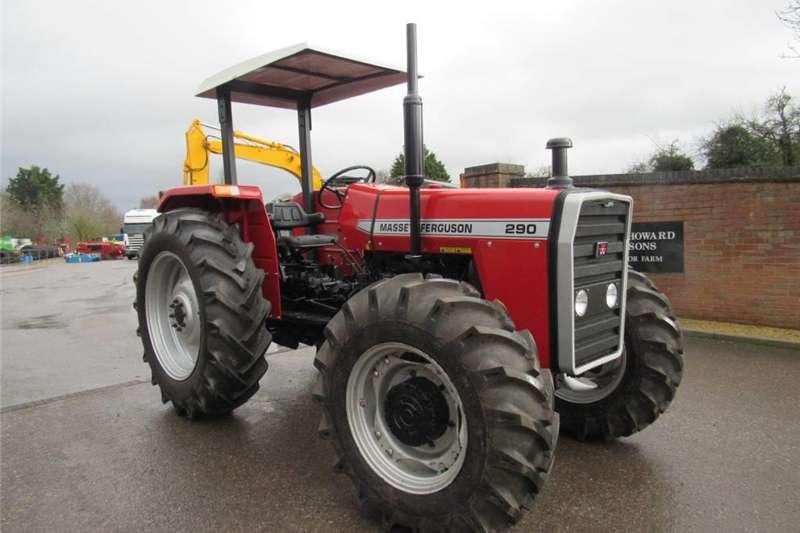 Tractors Four wheel drive tractors 4 x 4 Massey Ferguson 290 xtra
