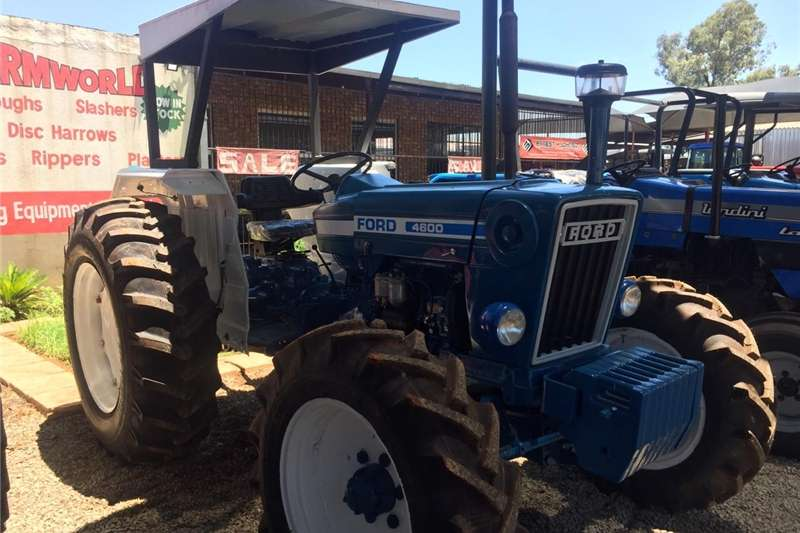Tractors Four wheel drive tractors Ford 4600 4x4 60HP/45kW Pre Owned Tractor
