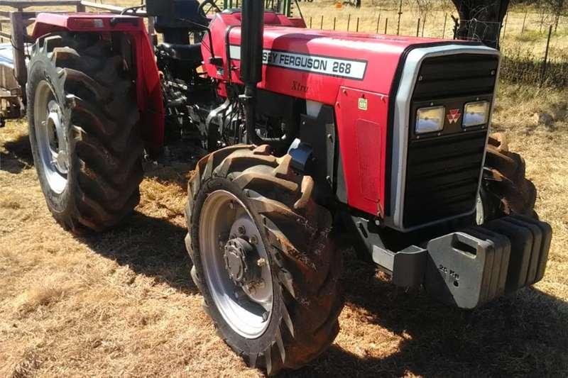 Tractors Four wheel drive tractors Massey Ferguson 268 Xtra