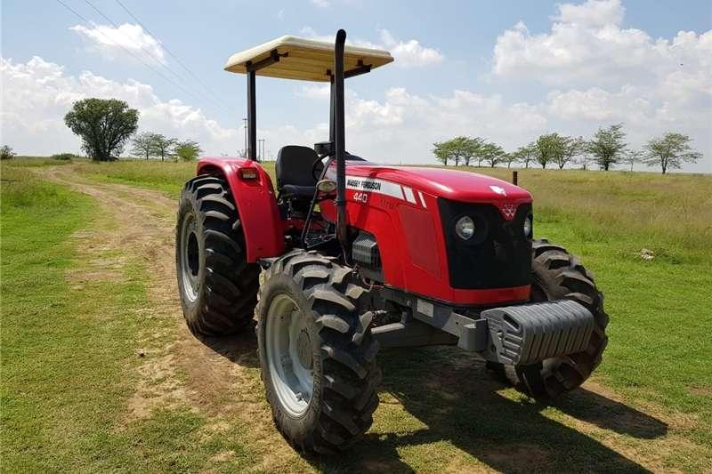Tractors Four wheel drive tractors Massey Ferguson 440