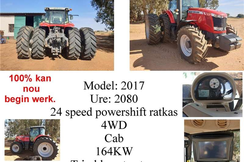 Tractors Four wheel drive tractors Massey Ferguson 7724 Tractor for sale. Hurry dont