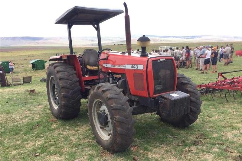 Tractors Four wheel drive tractors Massey Ferguson (MF) 440 80 / Hp 4x4 Pre Owned Tra
