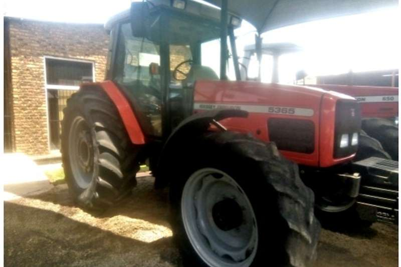 Tractors Four wheel drive tractors Massey Ferguson (MF) 5365 120 HP 4x4 Pre Owned Tra