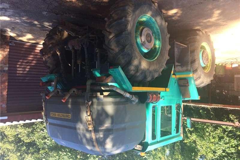 Four wheel drive tractors MB Trac 1300 Mercedes tractor / 2000l water tanker Tractors