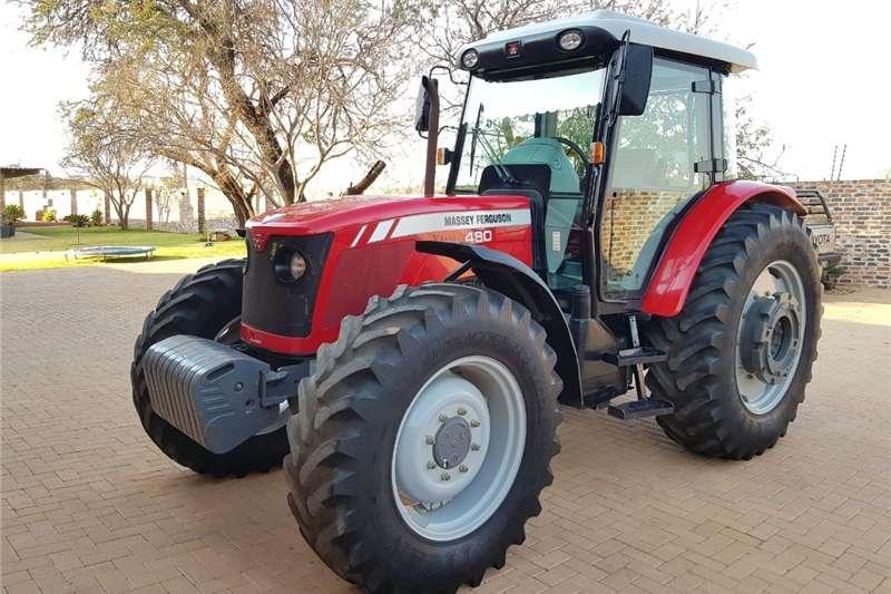 Tractors Four wheel drive tractors MF 480
