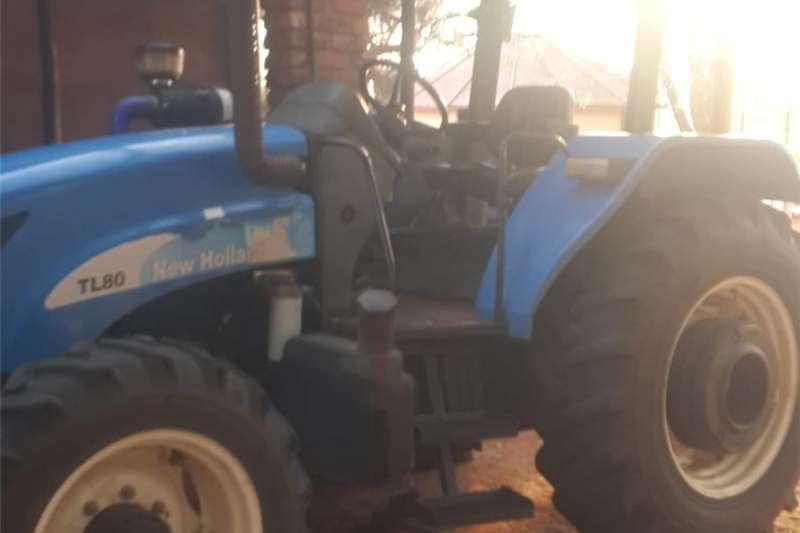 Tractors Four wheel drive tractors New Holland TL80