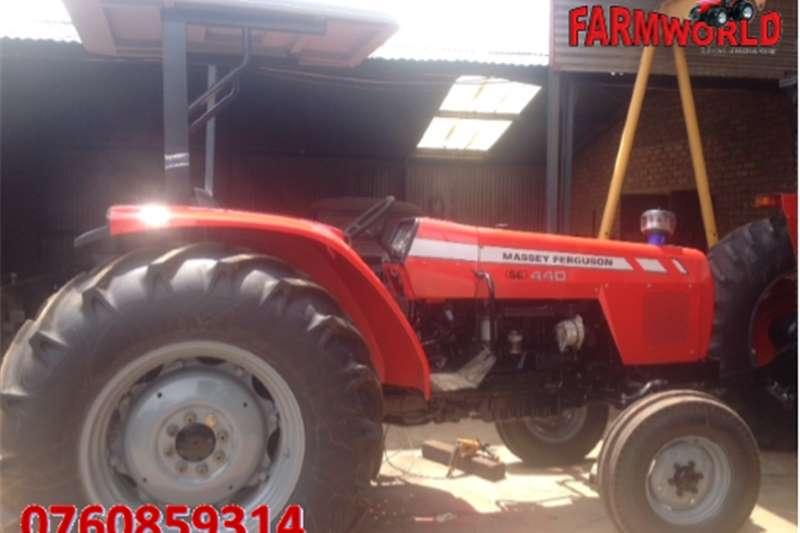 Tractors Four wheel drive tractors S2804 Red Massey Ferguson (MF) 440 61kW/80Hp 4x4 P