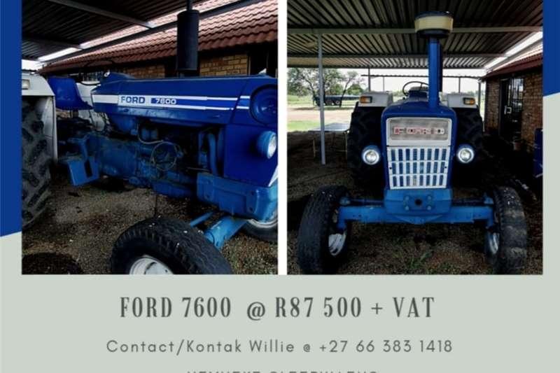Other tractors FORD 7600 TRACTOR / TREKKER Tractors
