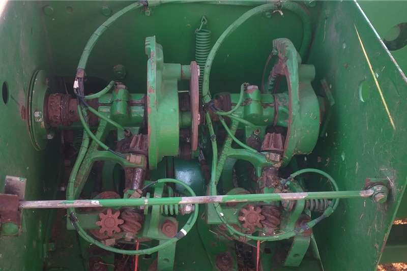 Other tractors John deere 3120 tractor and 359 rope baler Tractors