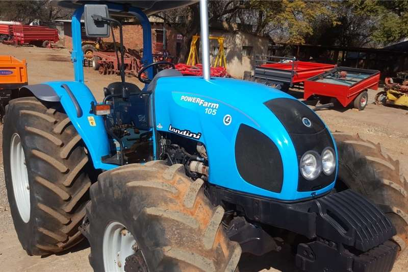 Other tractors Landini Powerfarm 105 Tractor 4x4 For Sale Tractors