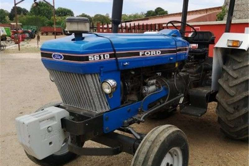 Tracked tractors Ford 5610 Tractors